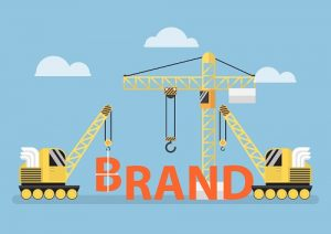 Brand Building concept - Construction public relations