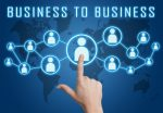 Business to business graphic.