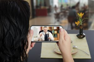 Telehealth on smartphone shows importance of healthcare IT public relations