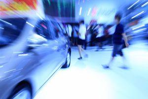 Car trade show.